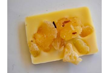 Barretta cioccolato bianco frutta candita