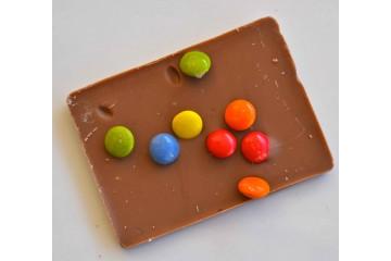 Barretta cioccolato latte smarties